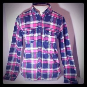 Women's Abercrombie and Fitch flannel shirt